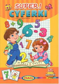 super cyferki - ISBN: 9788366085190