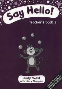 Say Hello 2 Teacher's Book + CD