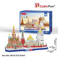 puzzle 3d city line moscow - ISBNx: 6944588202668