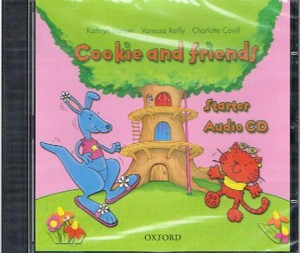 cookie and friends starter class audio cd - ISBN: 9780194070034
