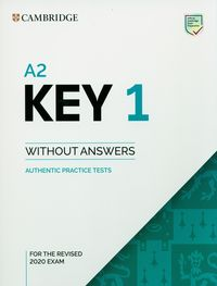 a2 key 1 for the revised 2020 exam authentic practice tests - ISBN: 9781108718127