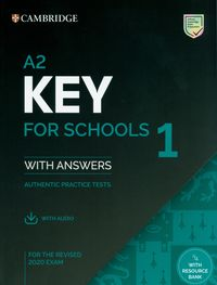 a2 key for schools 1 for the revised 2020 exam students book with answers with audio - ISBN: 9781108676595
