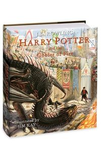 harry potter and the goblet of fire illustrated - ISBN: 9781408845677